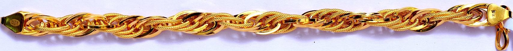 Gents Bracelet 7041-details